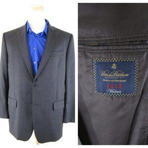 Brooks Brothers Makers Merchants Gray Sport Coat